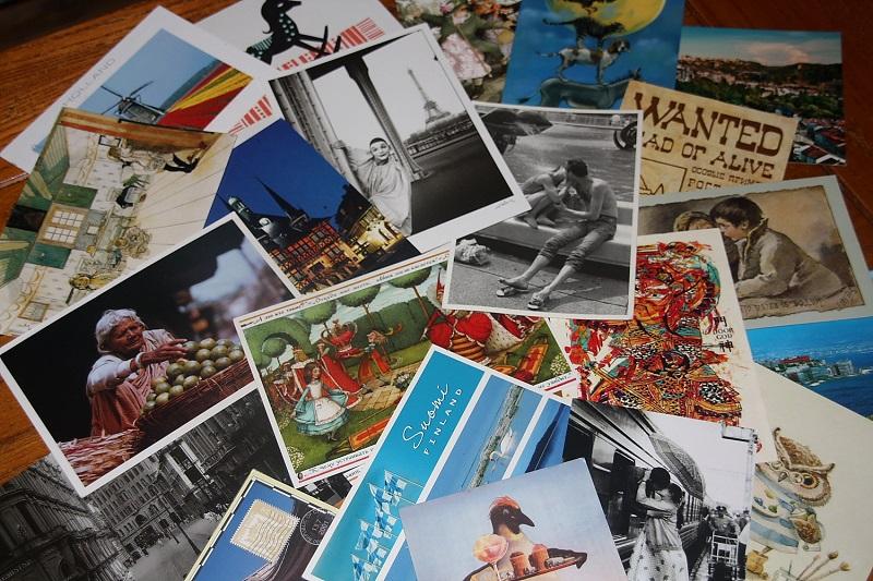Пересылка открыток по всему миру
